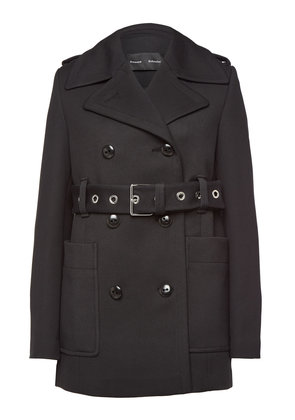 Proenza Schouler Belted Coat with Cotton