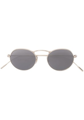 Oliver Peoples M-4 round frame sunglasses - Yellow