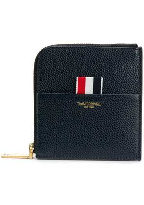 Thom Browne half-zip wallet - Blue