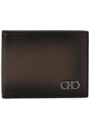 Salvatore Ferragamo Firenze Gancini wallet - Brown