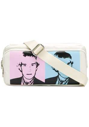 Calvin Klein Jeans Andy Warhol print belt bag - White