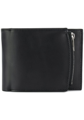 Maison Margiela zip compartment billfold wallet - Black
