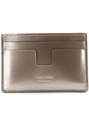 Tom Ford slim cardholder - Silver