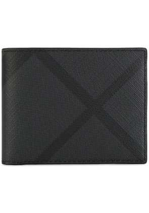 Burberry London Check Bilfold Wallet - Black