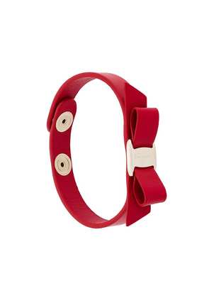 Salvatore Ferragamo Vara bow bracelet - Red