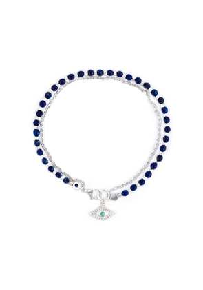 Astley Clarke 'Evil Eye Biography' bracelet - Blue