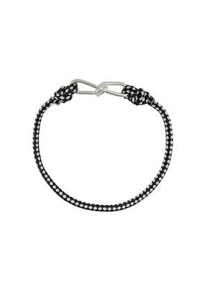 Annelise Michelson small Wire cord bracelet - Black