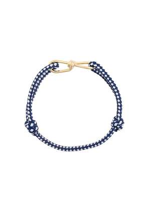 Annelise Michelson small Wire Cord bracelet - Blue