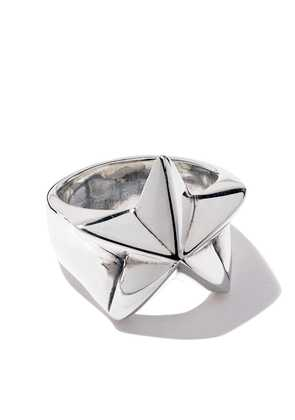 The Great Frog star tucker ring - Silver