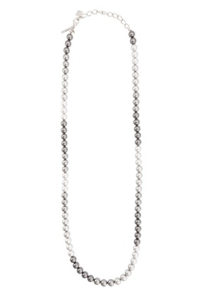 Oscar de la Renta pearl necklace - Grey