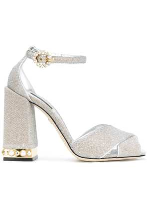 Dolce & Gabbana Bette sandals - Metallic