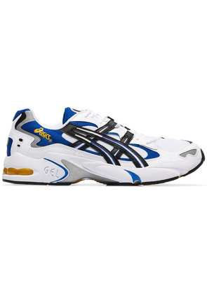 Asics White Gel Kayano 5 low top sneakers