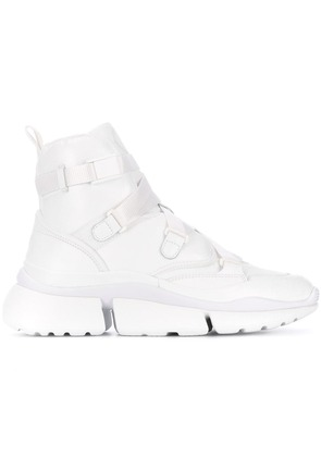 Chloé Sonnie hi-top sneakers - White