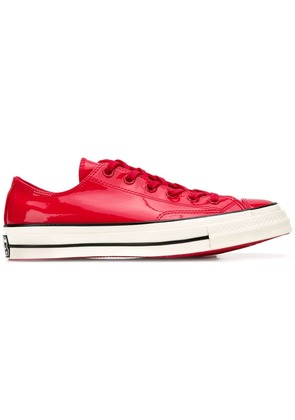 Converse vinyl All Star low-top sneakers - Red