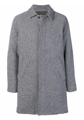 A.P.C. herringbone coat - Blue