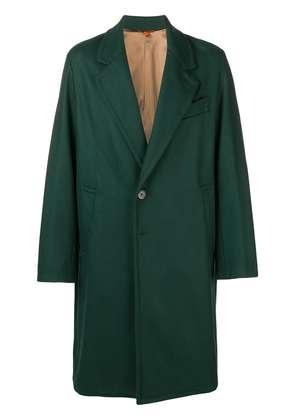 Barena boxy buttoned coat - Green