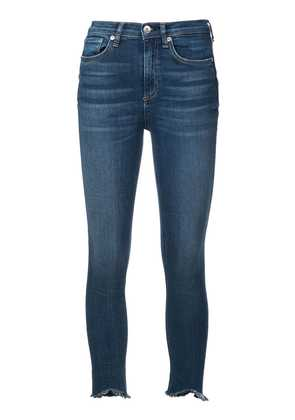 Rag & Bone /Jean high-rise skinny jeans - Blue