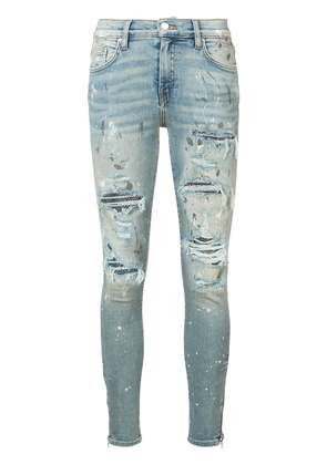 Amiri Crystal Painter jeans - Black