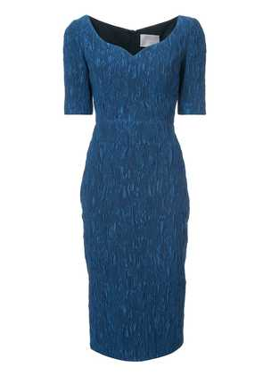 Jason Wu Collection sweetheart neck dress - Blue