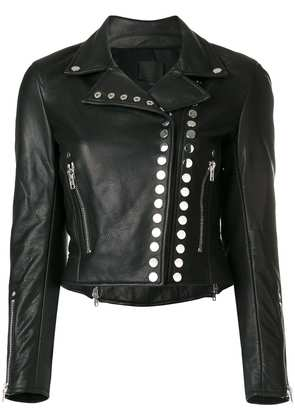 Alexander Wang studded biker jacket - Black