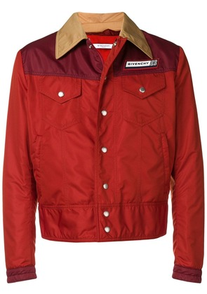 Givenchy panelled jacket - Red