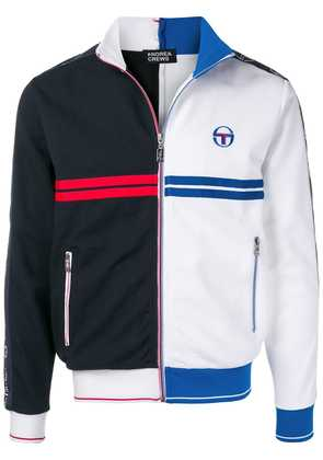 Sergio Tacchini two-tone zipped jacket - Blue