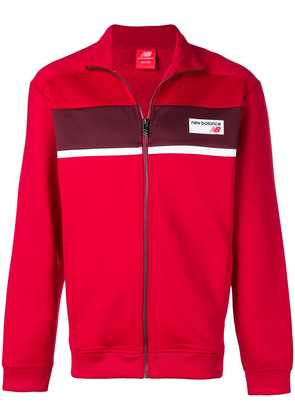 New Balance logo patch jacket - Red