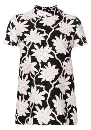 Valentino floral print top - Black