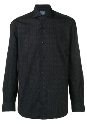 Barba patterned shirt - Blue