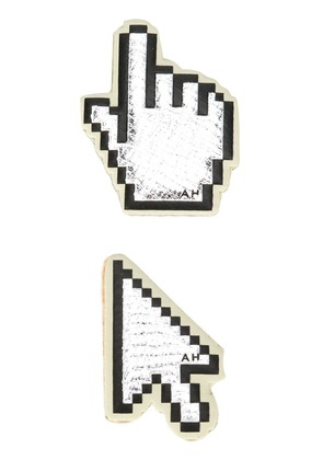 Anya Hindmarch Cursor stickers - Metallic