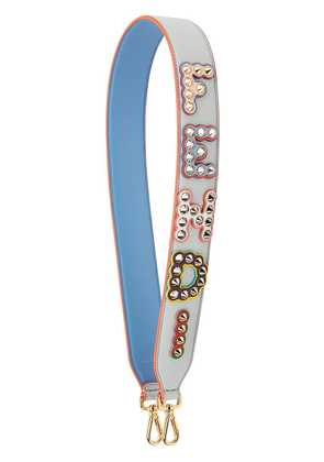 Fendi Strap You logo strap - Blue