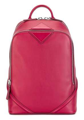 MCM zip up backpack - Red