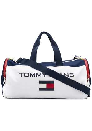 Tommy Jeans 90s duffle holdall bag - White