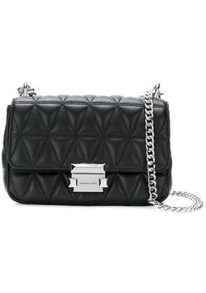 Michael Michael Kors Sloan quilted crossbody bag - Black