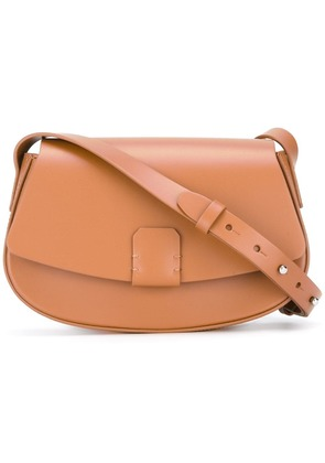 Nico Giani buckle cross body bag - Brown