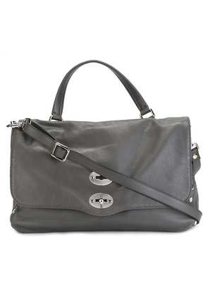 Zanellato medium 'Postina' satchel - Grey