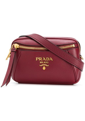 Prada logo bum bag - Red