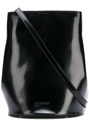 Jil Sander Navy bucket shoulder bag - Black