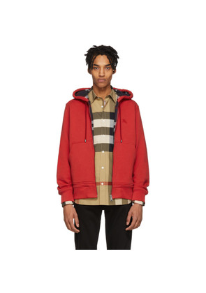 Burberry Red Core Hoodie