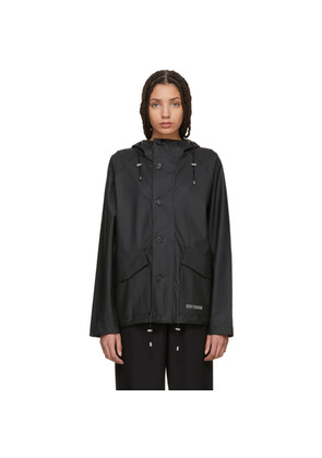 Stutterheim Black Stenharma Raincoat