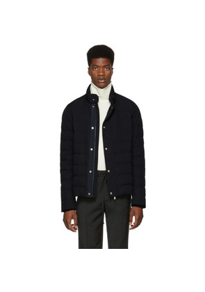 Moncler Navy Down Bellentre Jacket