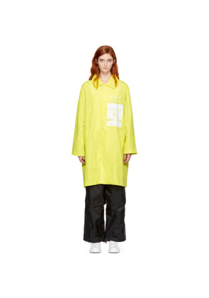 Perks and Mini Yellow Magma Mac Coat