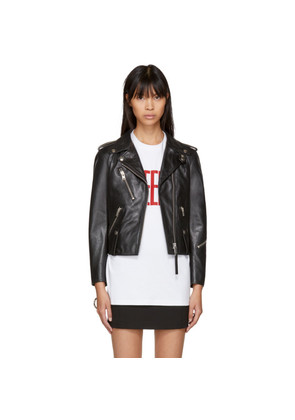 1017 Alyx 9SM Black Leather Biker Jacket