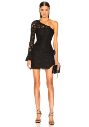 Alexis Tansy Dress in Black