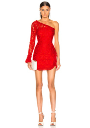Alexis Tansy Dress in Red