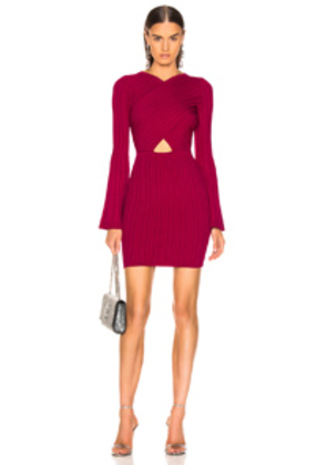 Cushnie Presley Dress in Pink