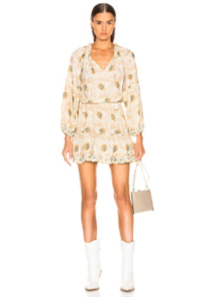 Natalie Martin Maggie Dress in Floral,Neutral,Yellow