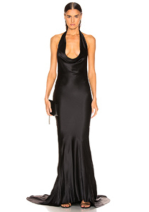 Stella McCartney Plunging Dress in Black