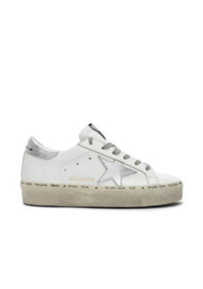 Golden Goose Hi Star Sneakers in White