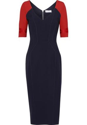 Amanda Wakeley Woman Knee Length Midnight Blue Size 8